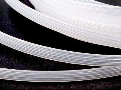 (3.50 EUR/Meter) Stäbchenband Kunststoff weiss - 8mm für Korsagen