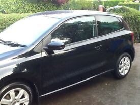 2012 Black Volkswagen polo match 1.2 tdi