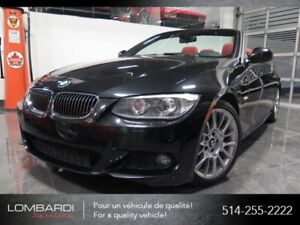 BMW 3 Series|328i|CABRIOLET|M PACK|CUIR ROUGE|