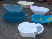 Any of the items photographed are £3 each-baby bath,potty,bath seat,IKEA child chair-any item £3each