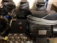 three phase pressure washer
