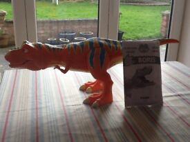 TOMY Boris T Rex Interactive talking Dinosaur VGC