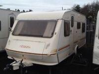 Elddis wisp 510/6 berth with awning