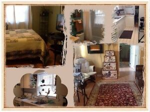 Executive furnished suit in private home