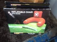 inflatable chair new only £5.00