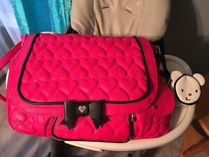 Betsy Johnson diaper bag