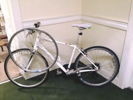Specialized Vita Elite Hybrid Bike White Frame Large
