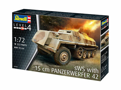 Revell 03264 - 1/72 WWII Dt. Sws With 15cm Panzerwerfer 42 - Neu