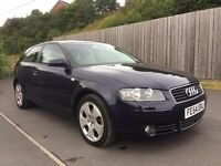 2004 54 Audi A3 Sport 2.0 TDI 3dr *Same Spec As S-Line* not a4 1 series 120d 1.9 golf gtd gt gti a4