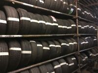 Part worn tyres with fitting from £10