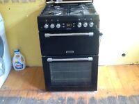 Black leisure gas cooker