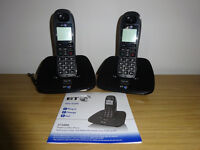 Two BT 1000 Cordless Phones