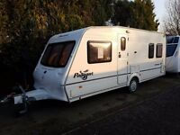 Bailey Pageant Bordeaux 4 berth caravan 2005 ,FIXED BED VGC Awning, BARGAIN