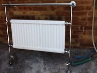 """Bathroom radiator with towel hanging 38""""Lx36""""H approx"""