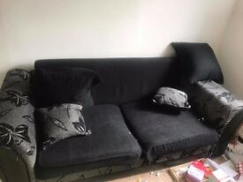 Black used Sofa