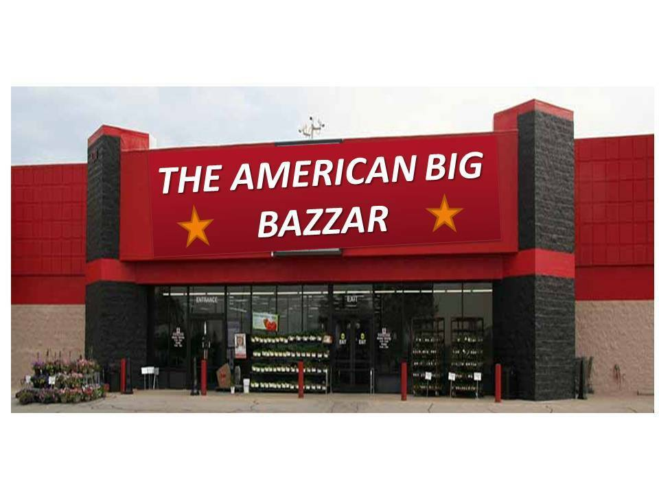 THE AMERICAN BIG BAZZAR