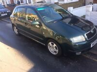 SKODA FABIA 1.4 PETROL MOT 04/17 SPARE OR REPAIR BODY DAMAGE DENT AND SCRATCHES READY TO DRIVE
