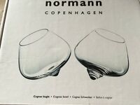Normann brandy glasses