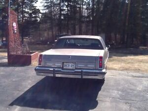 Oldsmobile 84 mint condition low Kms