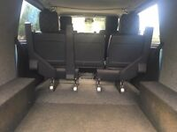 Mercedes Vito rear seats