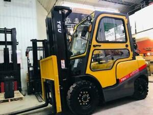 NEW TEU LIFT TRUCK / tcm Propane Pneumatic 5000lbs WARRIOR Series