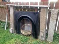 Open fire surround