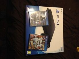 PS4 500gb slim bought as christmas preasant and neaver been used brilliant condition