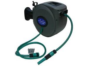 AUTO RETRACTABLE 15M GARDEN HOSE REELS WITH HOSE - BRAND NEW Thornlands Redland Area Preview