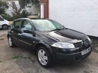 Renault Megane Oasis 5 door 1.4ltr lovely condition, top spec, brand new mot and svs