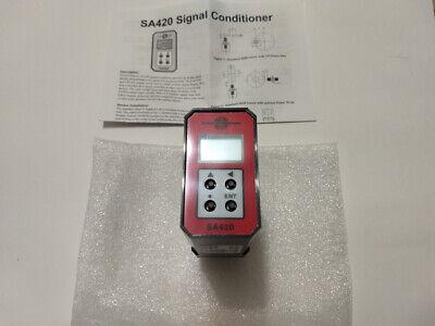 Electro-sensors Sa420 Signal Conditioner 115vac 4-20ma New