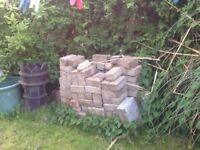Quantity of concrete bricks