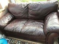 3 piece leather sofa