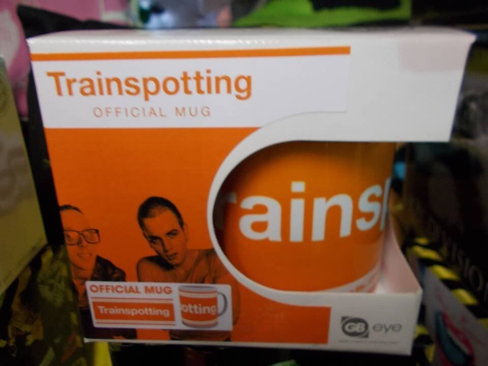 Brand new n boxed official Trainspotting Mugs, all come gift boxed.