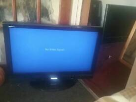 Sony 30 inch lcd tv perfect working order NO REMOTE £50