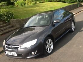 2009 SUBARU LEGACY REN 2.0 SALOON WITH LEATHER AND SAT NAV AND FULL SERVICE HISTORY