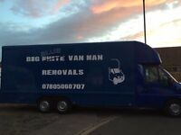 Big White Van Man Removals , deliverys and collections, Teesside and East Cleveland areas covered,