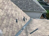 ROOF LEAKS ROOF REPAIR SHINGLES MISSING FIXED TODAY!!