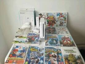 Nintendo Wii with accessories in excellent condition