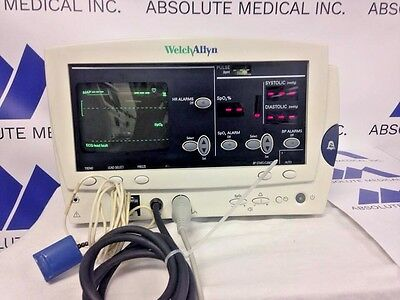 Welch Allyn Ipx2 Patient Monitor 6200 Series With Ecgspo2nibpbiomed Certified