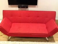 A click sofa bed, excellent, almost new condition.