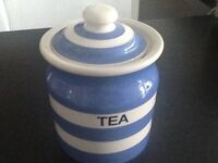 TG Green tea canister