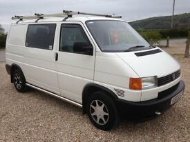 volkswagen transporter 2.5 tdi swb day van 2002/02 310k and 11 months mot..