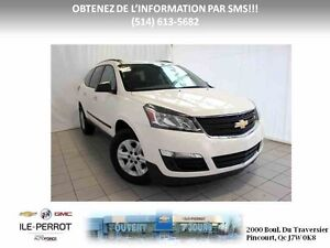 2015 CHEVROLET TRAVERSE AWD, CAMERA, B-TOOTH, BAS KILO