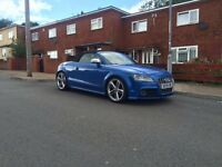 2009 AUDI TTS QUATTRO CONVERTIBLE ..... 265BHP ..... SPRINT BLU ..... FULLY LOADED .... P/X WELCOME