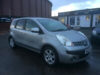 **PERFECT FAMILY CAR** NISSAN NOTE SVE 1.6 (2007) - NEW MOT - LOW MILES - HPI CLEAR!