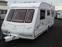 2006 compass omega 505/5 berth double DINNETTE with fitted mover