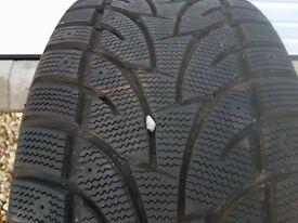4 x winter tyres with icicle marking 275 40 r20 ideal for landrover