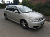 toyota corolla 1.4vvti 5 door 1 former keeper drives very well 2004 model