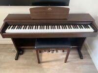 Yamaha Arius YDP-140 Digital Piano, 88 weighted keys, 3 pedals + yamaha piano stool