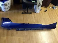 BMW Z4 2007 model right side skirt